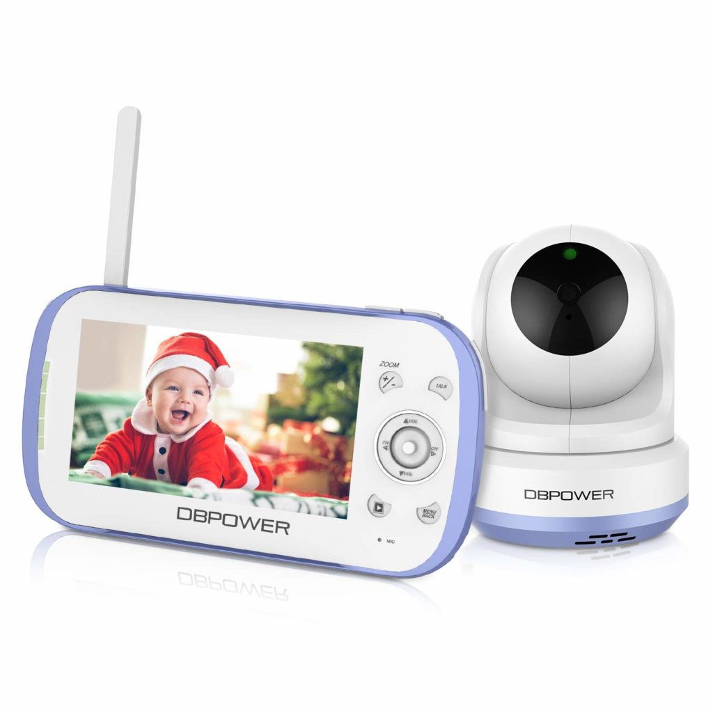 DBPOWER Video Baby Monitor with Split Screen